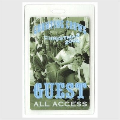 Counting Crows authentic 2003 concert Laminated Backstage Pass Hard Candy Tour