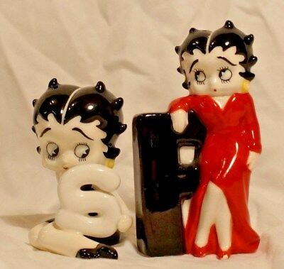 Betty Boop Salt And Pepper Shakers