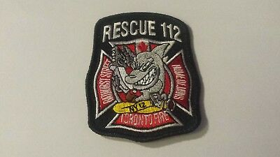 toronto fire station 112 patch **HOME OF JAWS**