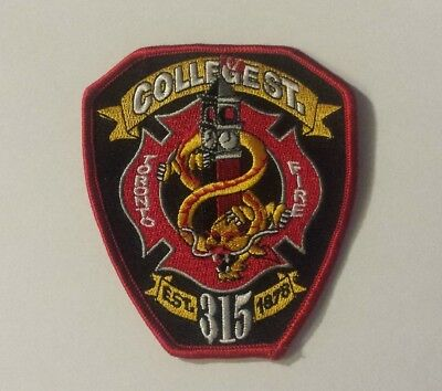 toronto fire station 315 patch **COLLEGE STREET**