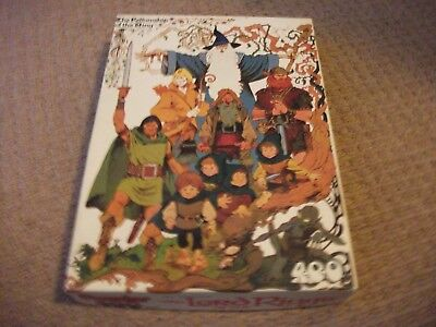 Hestair Jigsaw-J.R.R Tolkien-The Fellowship of the Ring -Vintage-1979 - 400 Pce