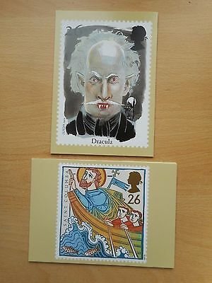 GB 1997 Religious Anniversaries and Horror Stories sets mint PHQ cards