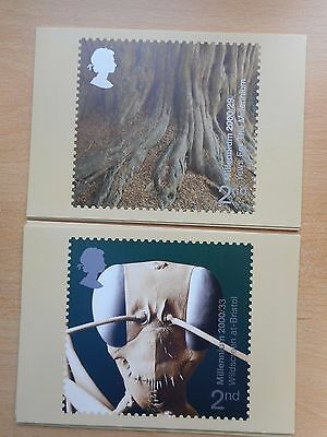 GB 2000 Tree & Leaf and Mind & Matter sets mint PHQ cards