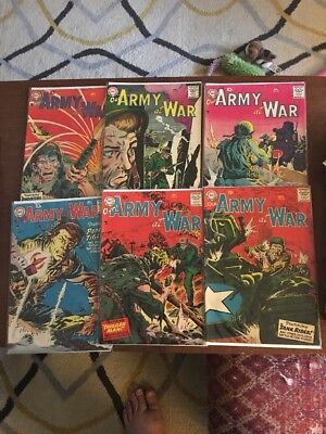 Our Army At War Lot Of 6