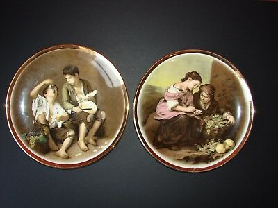 Lord Nelson Pottery The Beggar Boys 2 Plates