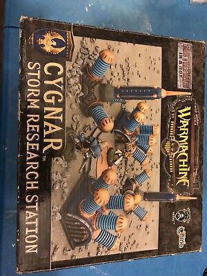 Cygnar Storm Research Station Battlefield In A Box GF9 Warmachine Complete