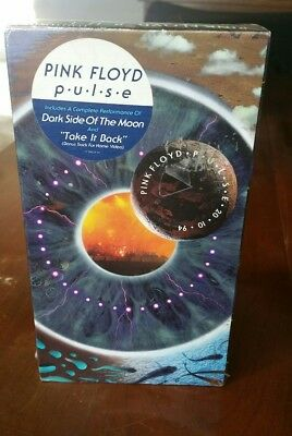 PINK FLOYD Pulse (1995) VHS Tape Dark Side of the Moon New Never Opened