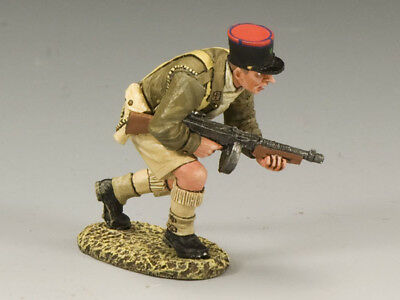 King and Country EA050 Legion Officer with Tommy Gun RETIRED