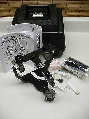 Hanau Wide-Vue  I I  Semi Adjustable Dental Articulator  Lab Supplies Wax
