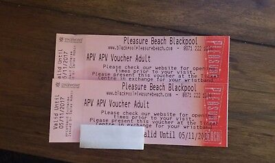 Two Tickets For Blackpool Pleasure Beach