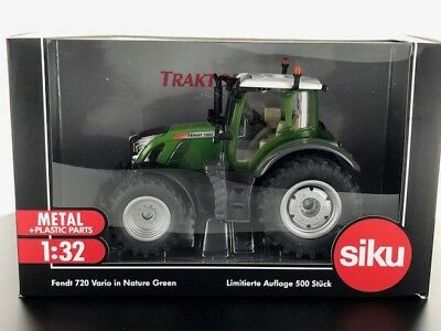 3285 Limited Edition Siku Fendt 720 Nature Green tractor BOXED 1:32 scale