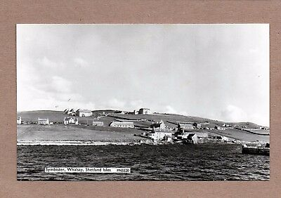 Symbister, Whalsay, Shetland Isles Real Photo Postcard 1960's Unposted, (PN5520)