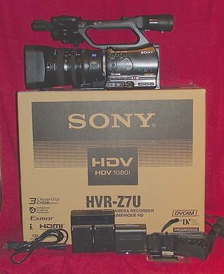 Sony HVR-Z7U Digital HD  camcorder HD,Boxed,HDMI