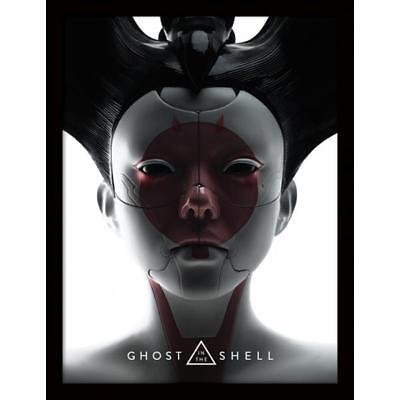 Merchandising Ghost In The Shell - Face (Stampa In Cornice 30X40 Cm)