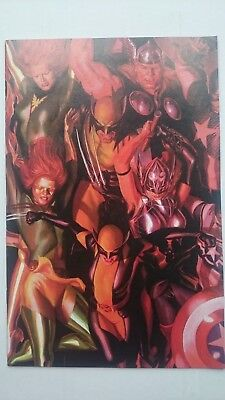 Marvel Generations The Pheonix # 1  Nm  1:50 Alex Ross Connecting Variant 2017
