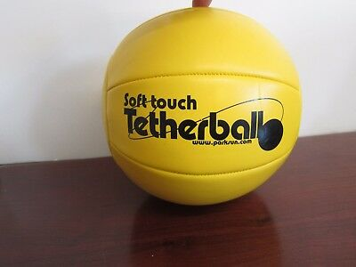 New Soft Touch Tetherball Park & Sun Sports Yellow Tether Ball