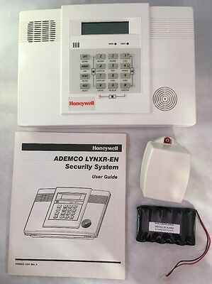 Honeywell Ademco LYNXR-EN Security System Control Panel w/ User Guide