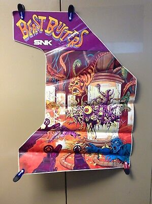 NEW Beast Busters By SNK Video Arcade Game Side Art Decal