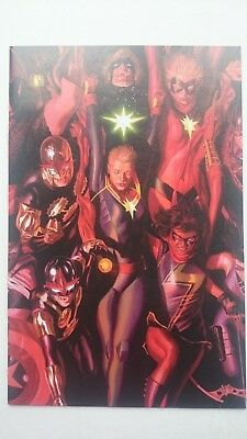 Marvel Generations Wolverines # 1  Nm  1:50 Alex Ross Connecting Variant 2017