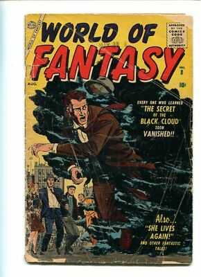 World Of Fantasy #8 Good Reader Complete Stunning Cover