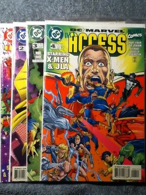 DC/Marvel: All Access #1-4 (Complete)