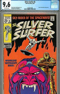 Silver Surfer #6 CGC GRADED 9.6 - second highest graded
