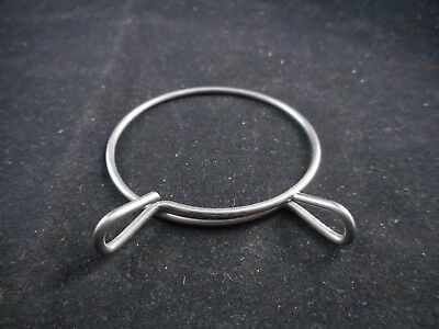 Unbranded Metal Spring Hose Clamp 1.5 inch / 40 mm Diameter with Easy Release