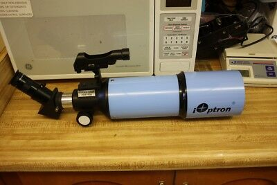 iOptron 8710 80mm Refractor Telescope or Spotting Scope with Eyepiece & Red Dot
