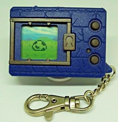 Digimon Blue Japanese ver.1 1997 vintage virtual pet Tested and Working