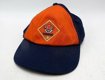 Boy Scouts of America BSA Cub Scout Tiger Ball Cap Hat - S/M - Great Condition