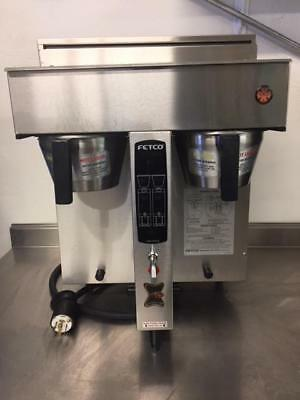 Fetco CBS-2032E  Dual Twin Coffee Brewer Commercial Machine Water Tap