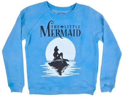 Disney The Little Mermaid Sweater Girls Age 9-14 Disneyland Princess Ariel
