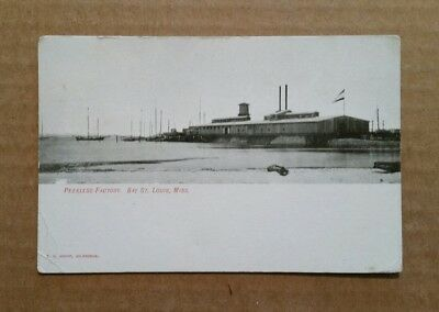 Peerless Oyster Co.Factory,Bay Saint Louis,Miss.,1900's