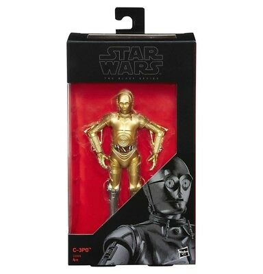 Star Wars The Black Series C-3PO 6-Inch Action Figure Exclusive - New in stock