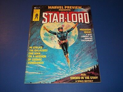 Marvel Preview #4 1st Starlord Huge Key FVF Beauty Guardians of the Galaxy