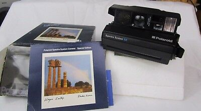 Polaroid Spectra System, Special Edition, with Manual - UnTested