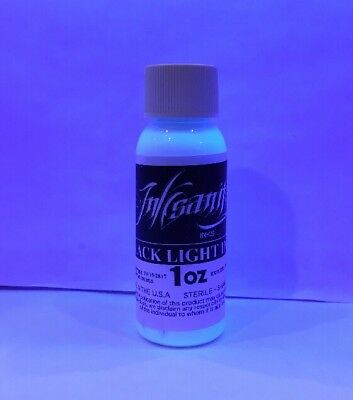 Inksanity Black Light Tattoo Ink Made In USA Not Eternal Supply Not DYNAMIC