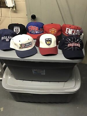 England Hat Lot