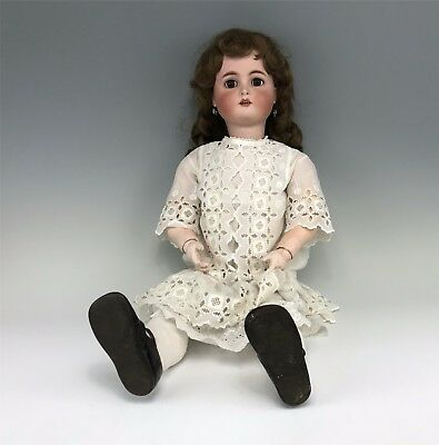 """Antique 31"""" Simon & Halbig K*R Bisque Doll Ball Jointed Composition Body"""
