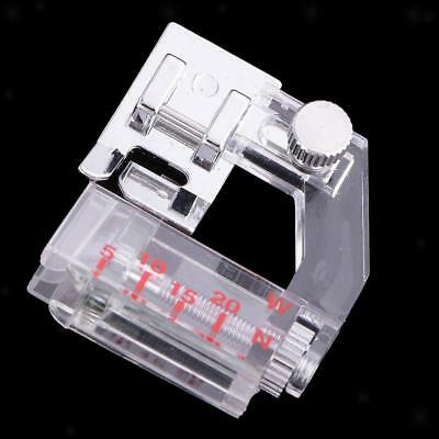 Adjustable 5-20mm Binding Bias Binder Presser Foot F Domestic Sewing Machine