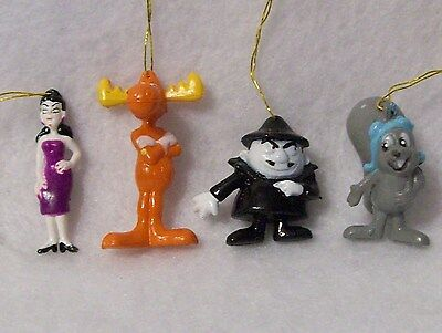 Rocky and Bullwinkle,Boris & Natasha Christmas Tree Ornaments, Decorations