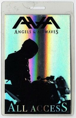 Angels & Airwaves authentic tour Laminated Backstage Pass Blink 182 Tom DeLonge