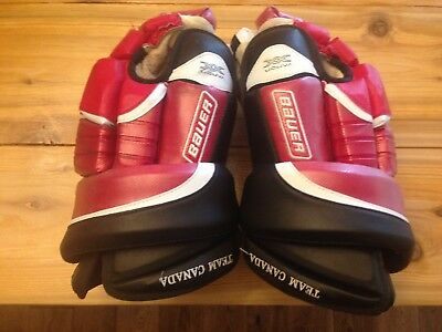 Ryan Getzlaf Gold Medal Winning Game Worn Team Canada Gloves W/coa Hockey Canada