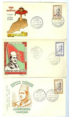 Morocco Stamps covers: 19 First Day Covers, from 1954 to 1960..Est:$180