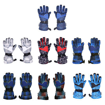 Windproof Glove Hiking Ski Winter Motorcycle Hiking Snowboard Gloves for Men
