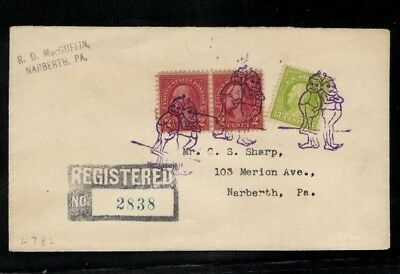 USA - Fancy Cancel Wichte / Zwerge (562799)