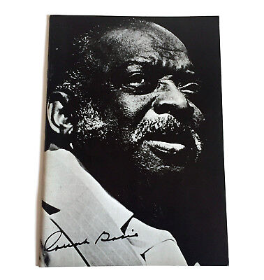 COUNT BASIE AND HIS ORCHESTRA JAPAN TOUR 1980 CONCERT PROGRAM BOOK Jazz