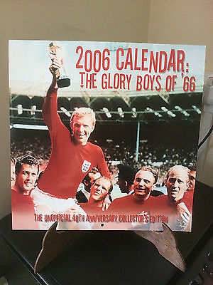 2006 Calendar Unofficial 40Th Anniversary Edition Of Englands World Cup Win 1966