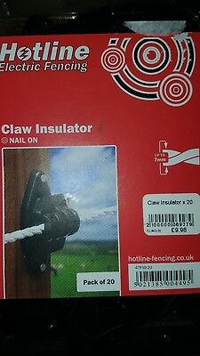 Hotline Electric Fence Insulators Claw