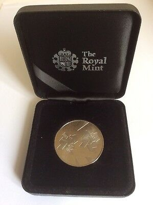London 2012 Olympic Games Official Police, Security Services Medal With COA